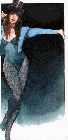 Zatanna in The Books of Magic