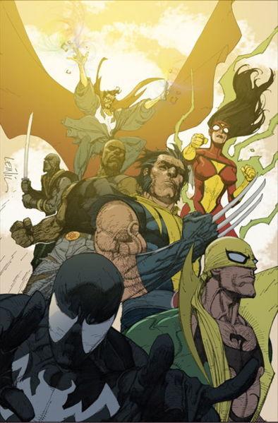 New Avengers Post-Civil War