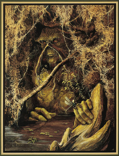 Swamp Thing - Creation