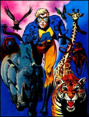 The Man with Animal Powers