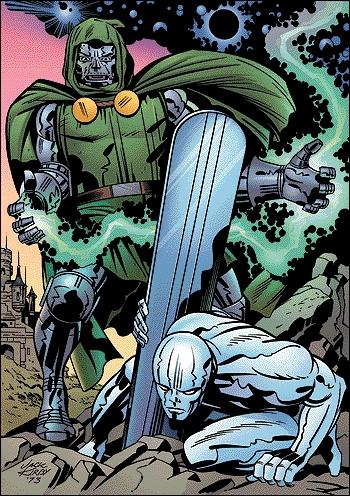 The Power Cosmic stolen by Doom.