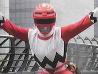 Leo as the Red Galaxy Ranger