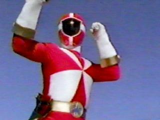 Carter as the Red Lightspeed Rescue Ranger