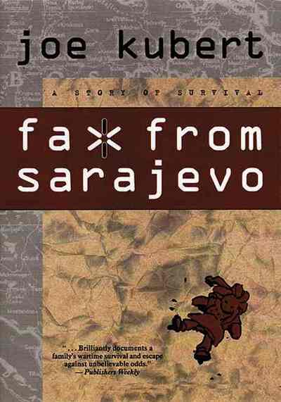 A graphic of faxes from besieged Sarajevo