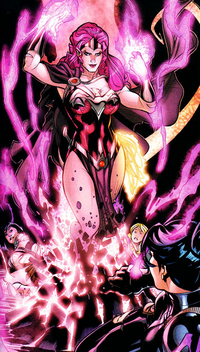 Til a great evil, bigger than herself or Arrow came to try to destroy their earth, she battled... and lost... her soul was almost destroyed...