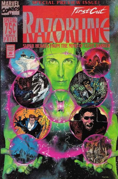 Razorline: First Cut, a special preview issue