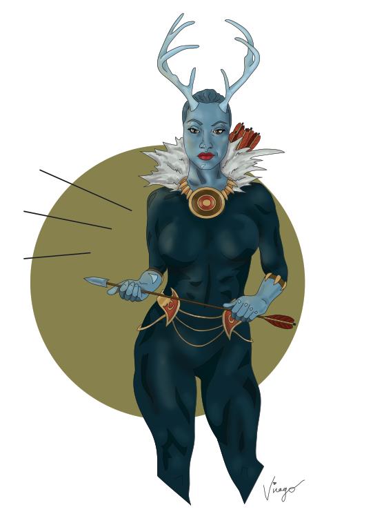 @virago 's Artemis & Black Panther...ArtePants