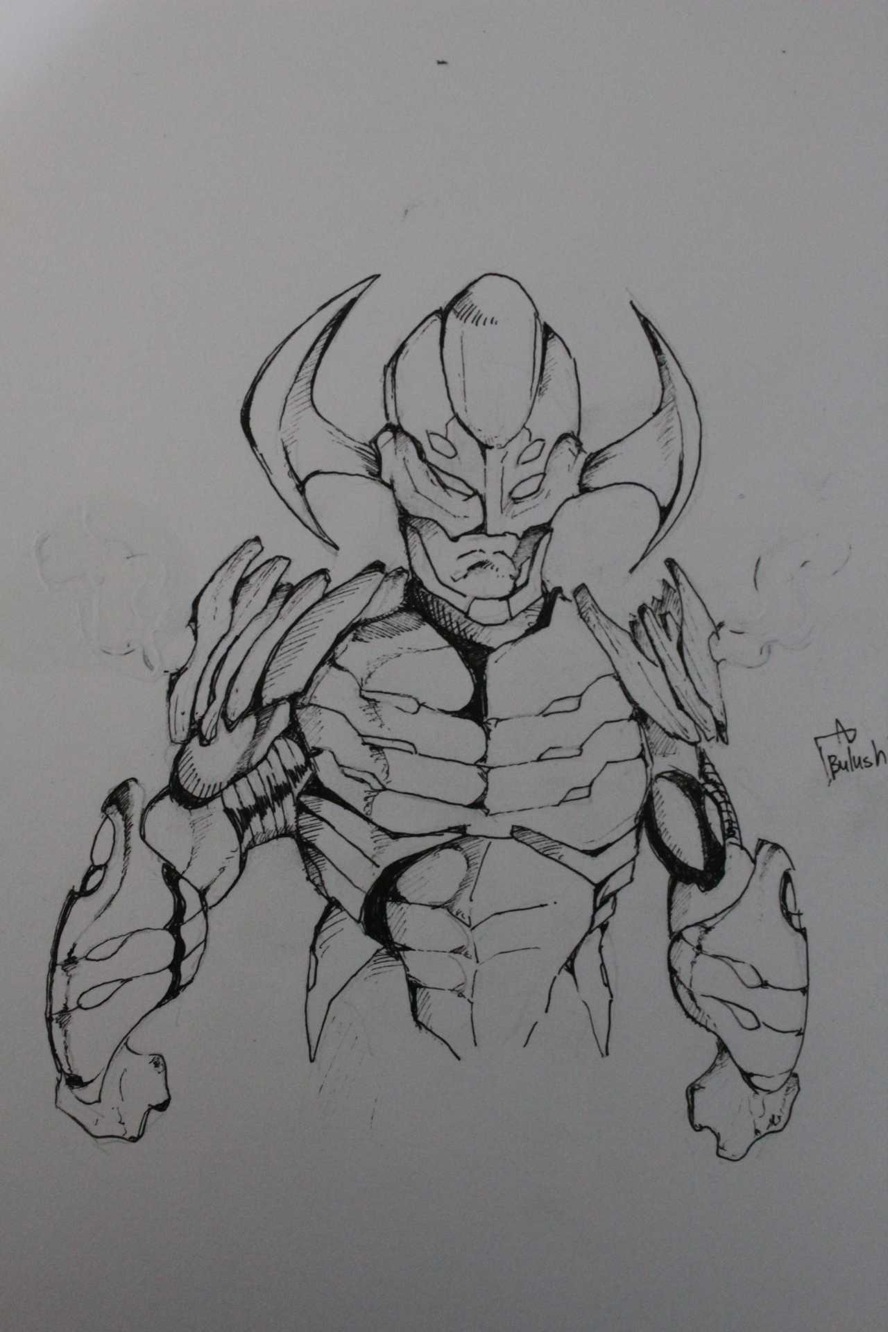 @kingx1 's Galactus +Ultron = Galactron