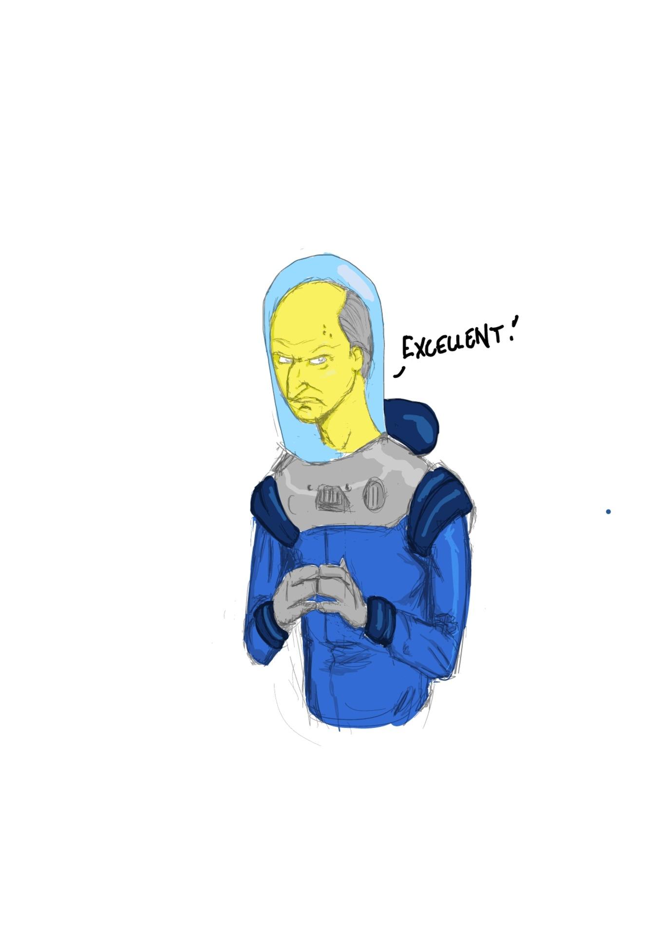 @battle_forum_junkie's Mr. Freeze and Mr. Burns