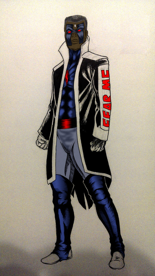 @mrnoitaull's Mr. Terrific + Mr. Sinister