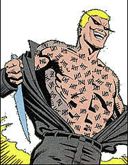 Zsasz has been busy