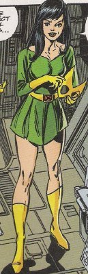 Candy In Marvel Girl's Uniform