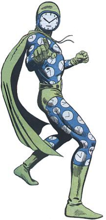 His costume while in the Injustice League