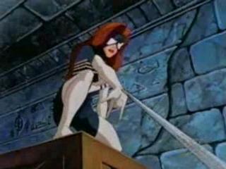 Spider-Woman in the Iron Man cartoon