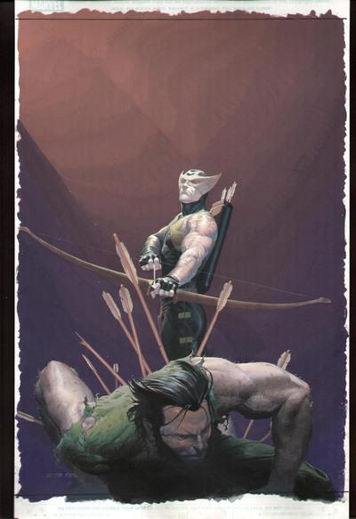 Return of Hawkeye.