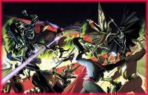 Super-Hero Battle