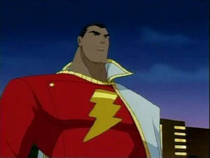 Captain Marvel in Justice League Unlimited