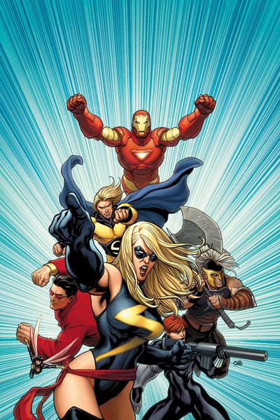 Leading the Avengers