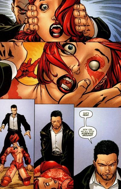 Jack kills Rose
