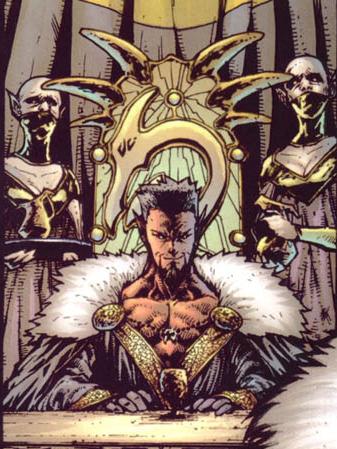The demonic Azazel
