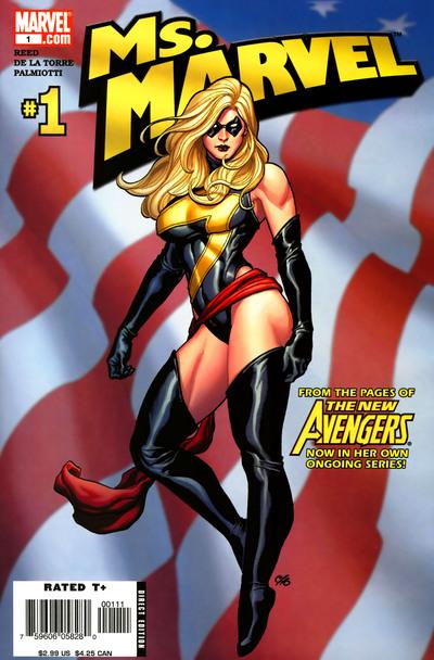 Ms. Marvel vol. 2 #1 (2006)