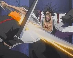 Kenpachi vs Ichigo
