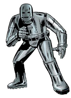 The Original Iron Man Armor