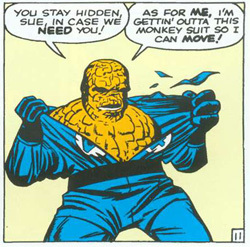 The Thing's Original Form.