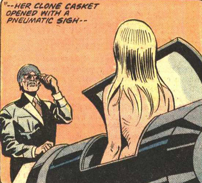 The Gwen Stacy clone is created