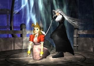 Sephiroth kills Aerith