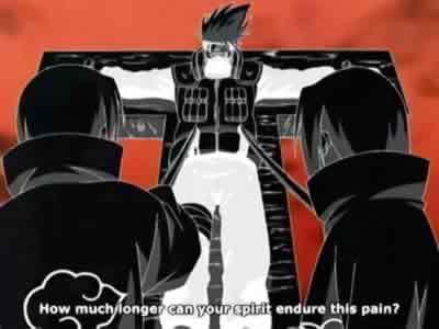 Torturing Kakashi in Tsukuyomi, the Dreamscape