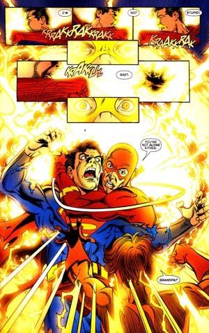 Barry Helps Bart in Infinite Crisis