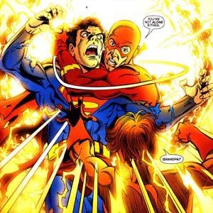 Barry's brief return in Infinite Crisis