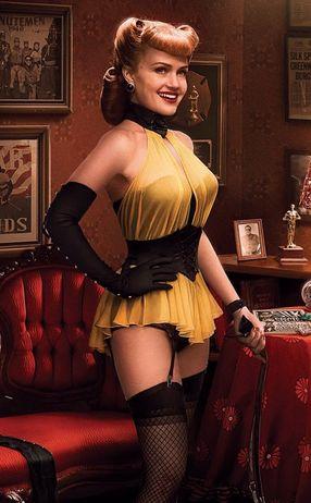 Carla Gugino as Sally Jupiter /Silk Spectre I