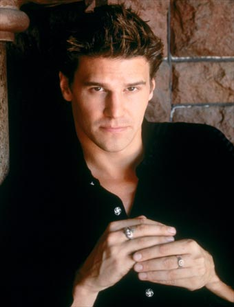 Angel as on television, portrayed by David Boreanaz.