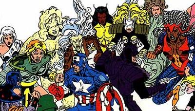Cap and Paladin vs. the Femizons