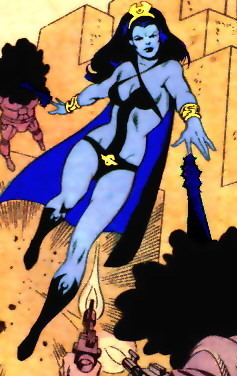 Classic Shadow Lass (1970's outfit)