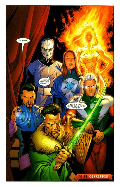 The Return of the Legion of Super-Villains