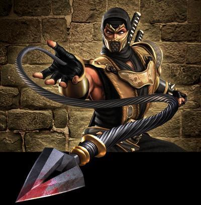 Scorpion's spear