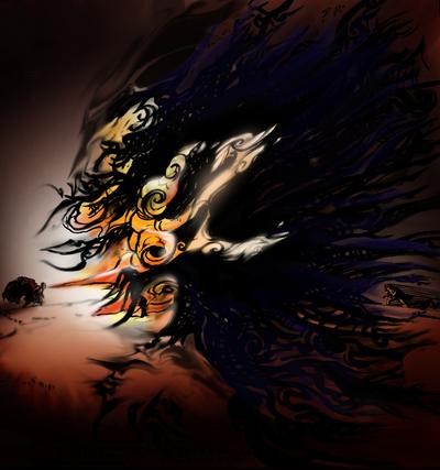 The power of Amaterasu
