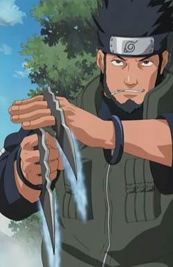 Asuma Saves Shikamaru