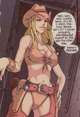 Outlaw introduces herself