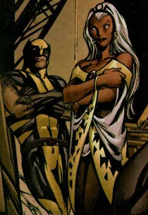 Storm and Wolverine