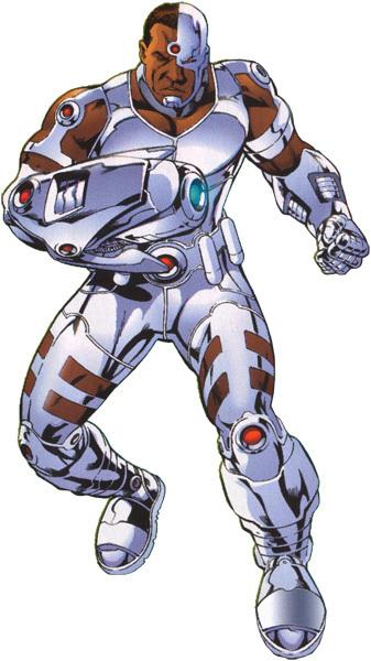Cyborg (New Earth)