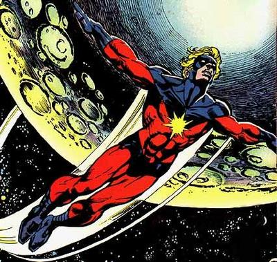 Captain Marvel - Protector of the Universe