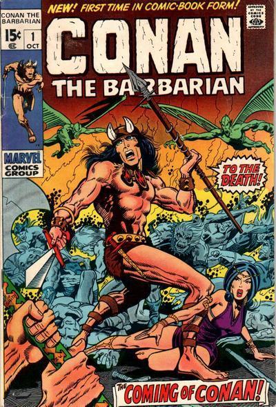 Conan #1 Marvel Comics, 1970