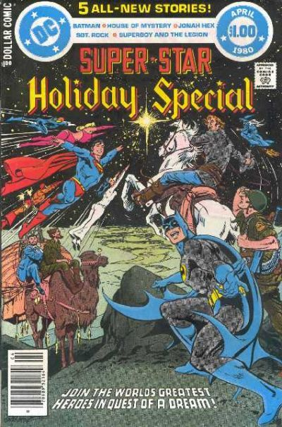 A Christmas anthology from DC Comics