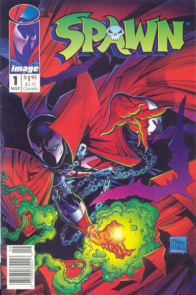 Spawn #1 one of McFarlane's most successful comics