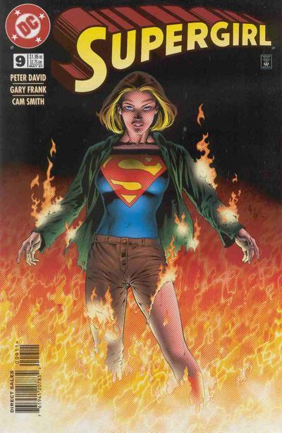 Matrix and Linda as Supergirl