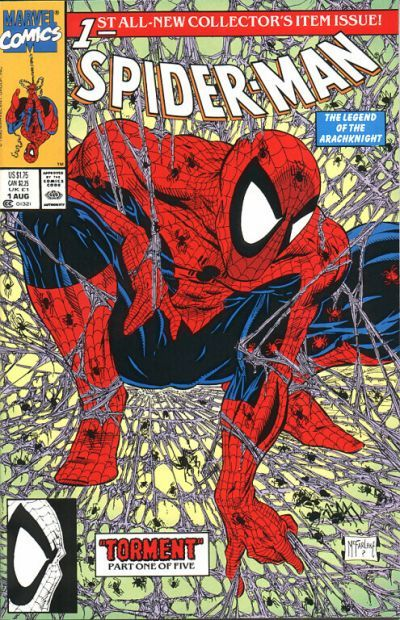 Todd McFarlane's Spider-Man #1 became the highest selling Spider-Man comic.